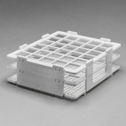 Bel-Art No-Wire Bottle and Vial Rack; For 13-16mm Bottles and Vials, 30 Places