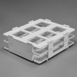 Bel-Art No-Wire Bottle and Vial Rack; For 25-30mm Bottles and Vials, 6 Places