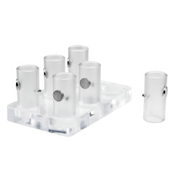 Bel-Art Magnetic Bead Separation Rack for 5 and 15ml Tubes