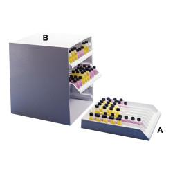 Bel-Art Lab Fridge Tray Cabinet; 14 x 13½ x 15½ in., Holds 3 Racks