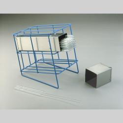 Bel-Art Poxygrid Pasteur Pipette Can Rack; 4 Places, 7½ x 5½ x 7⅝ in.