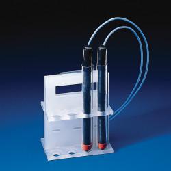Bel-Art Electrode Rack; For 20mm Tubes, 8 Places