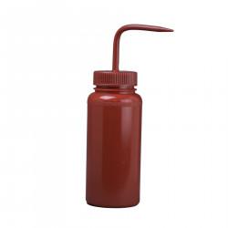 Bel-Art 500ml Red Polyethylene Wash Bottle & Cap, 53mm Closure (Pack of 6)