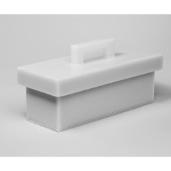 Bel-Art Lead Lined Polyethylene Storage Box; 13L x 36W x 13cmH