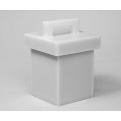 Bel-Art Lead Lined Polyethylene Storage Box; 15L x 15W x 20cmH