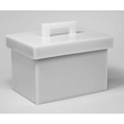 Bel-Art Lead Lined Polyethylene Storage Box; 20L x 30W x 20cmH