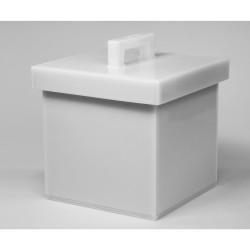 Bel-Art Lead Lined Polyethylene Storage Box; 25L x 25W x 25cmH