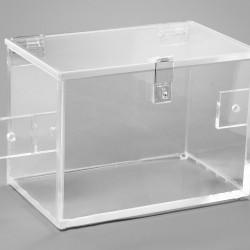 Bel-Art Beta-Safe Storage Box; Acrylic, 10L x 6W x 7H in.