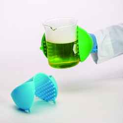 Bel-Art The Original Hot Hand Protector; Silicone, 10 x 19cm, Lime Green