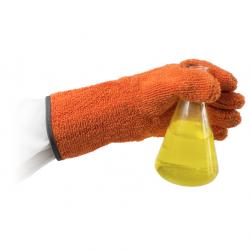 Bel-Art Clavies Heat Resistant Biohazard Autoclave/Oven Gloves; 11 in. Gauntlet