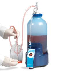 Bel-Art Vacuum Aspirator Collection System; 1.0 Gallon Bottle with Pump