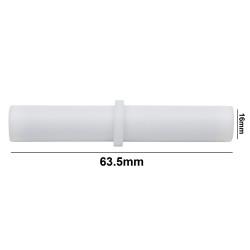Bel-Art Spinbar® Teflon® Cylindrical Magnetic Stirring Bar; 63.5 x 16mm, White
