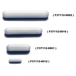 Bel-Art Spinbar® Teflon® Disposable Polygon Magnetic Stirring Bars; 12.7 x 3.2mm, White (Pack of 100)