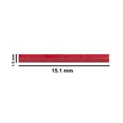 Bel-Art Spinbar® Teflon® Micro (Flea) Magnetic Stirring Bar; 15.1 x 1.5mm, Red