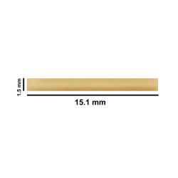 Bel-Art Spinbar® Teflon® Micro (Flea) Magnetic Stirring Bar; 15.1 x 1.5mm, Yellow
