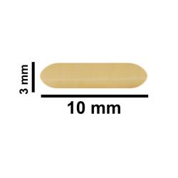 Bel-Art Spinbar® Teflon® Micro (Flea) Magnetic Stirring Bar; 10 x 3mm, Yellow