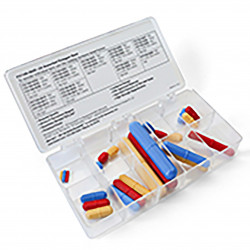 Bel-Art Spinbox® Teflon® Octagon Magnetic Stirring Bar Assortment (Pack of 24)