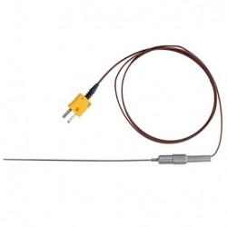 Bel-Art H-B DURAC Thermocouple Thermometer Probe: -200/920°C, K-Type