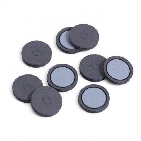 Agilent 20mm Gray PTFE/Blk butyl  septa,100pk