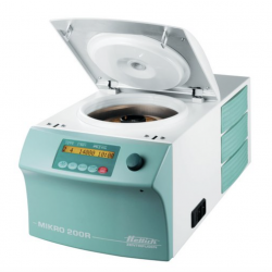 Hettich MIKRO 200R, Microlitre Centrifuge, refrigerated, without rotor, 200-240 V, 50-60 Hz
