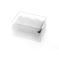 Labcon PurePlus® 2.5 mL 96 Well Deep Well Plates with Square Wells and Clear Lid, Autoclavable (10pcs x 1pack)