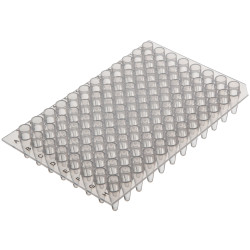 Labcon PurePlus® 0.2 mL 96 Well PCR Plates with Raised Wells for Popular Thermocyclers (10pcs x 10packs)