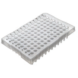 Labcon PurePlus® 0.2 mL 96 Well PCR Plates with Half Skirt for ABI® Thermocyclers (10pcs x 10packs)